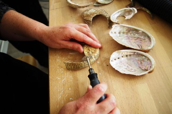 L'artisan d'art nacrier, ou l'amour des coquillages